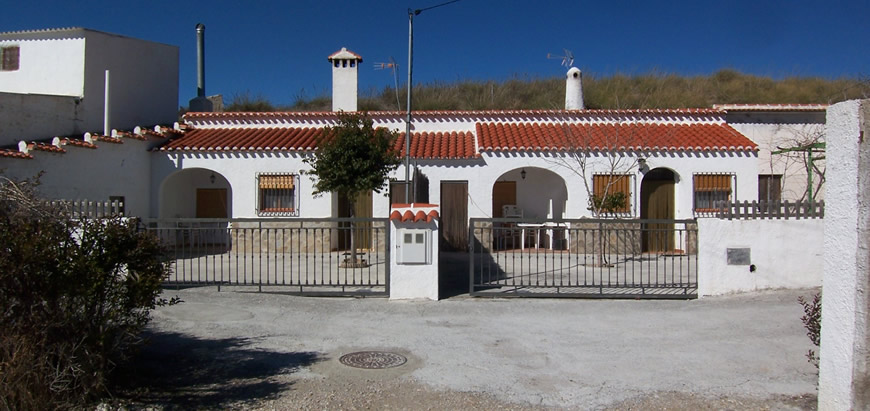 Castillejar Cave Houses x2 Granada Spain Business Opportunity 48,800 Euros each / 89,000 Euros both